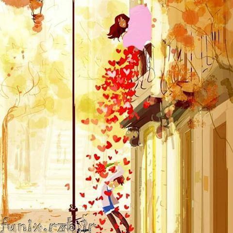 نقاشی های زیبای فانتزی و عاشقانه
