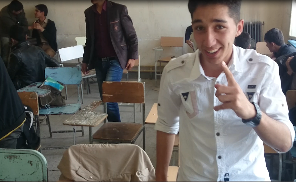 فیلم یادگاری کلاس دوم تجربی دبیرستان معلم 1393