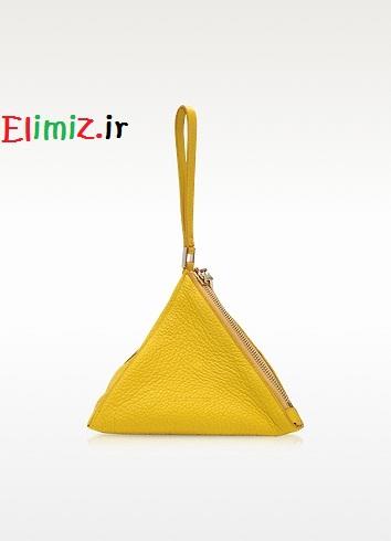 کیف زنانه زرد خوشگل