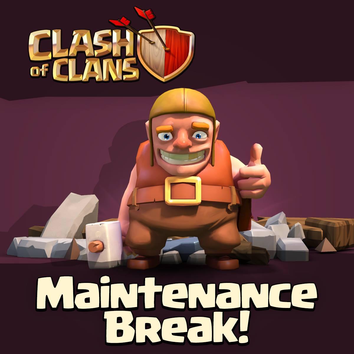 بازی به حالت maintenance رفت