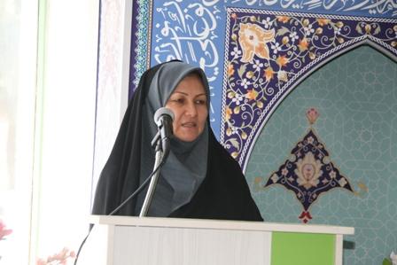 آراستگي بانوان و دختران جامعه اسلامي به دو زینت عفاف و نجابت