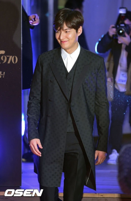Lee Min-ho wants to 'stand proud'