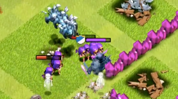 kill pekka with archer minion
