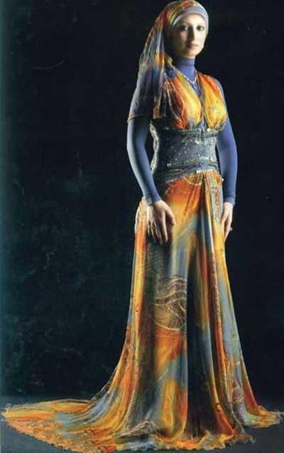 مدل لباس عربی زنانه