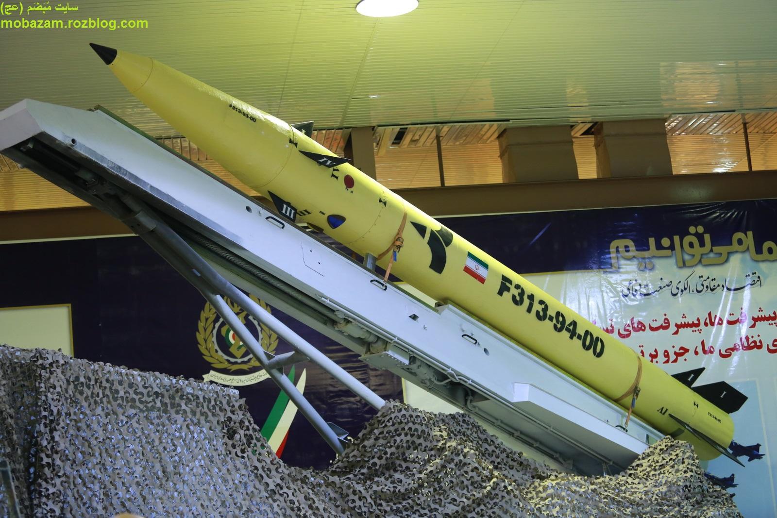 نظر رسانههای خارجی درباره موشک فاتح ۳۱۳ + تصاویر