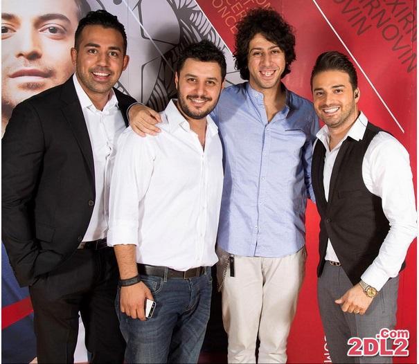 جواد عزتی در کنسرت بابک جهانبخش + عکس
