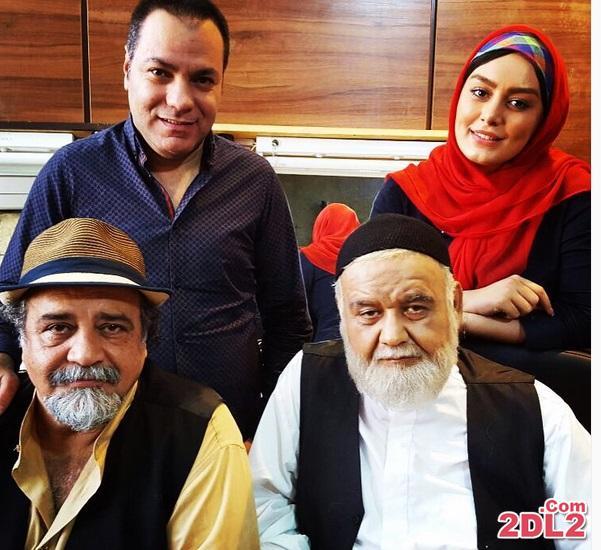 سحر قریشی در کنار اکبر عبدی و شریفی نیا + عکس