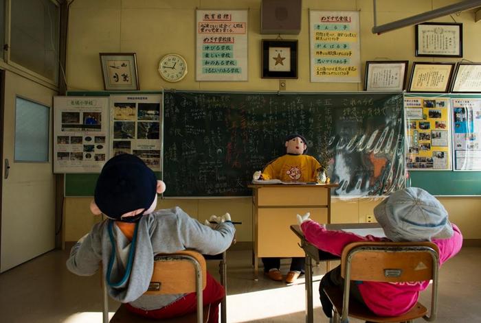 تصاویر بسیار دیدنی از روستای مترسک ها در ژاپن!