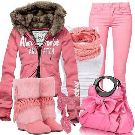 ست لباس زمستانی زنانه2015