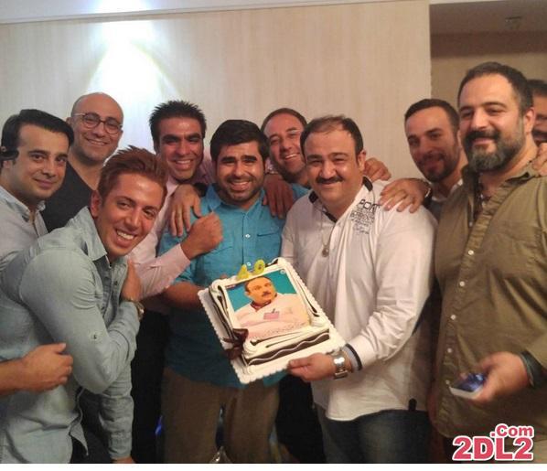 عکس دیدنی از جشن تولد مهران غفوریان