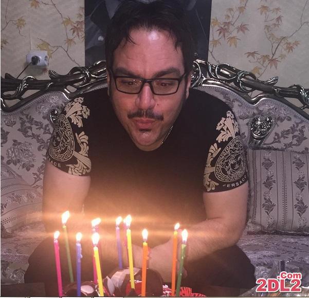 جشن تولد شهرام قائدی + عکس