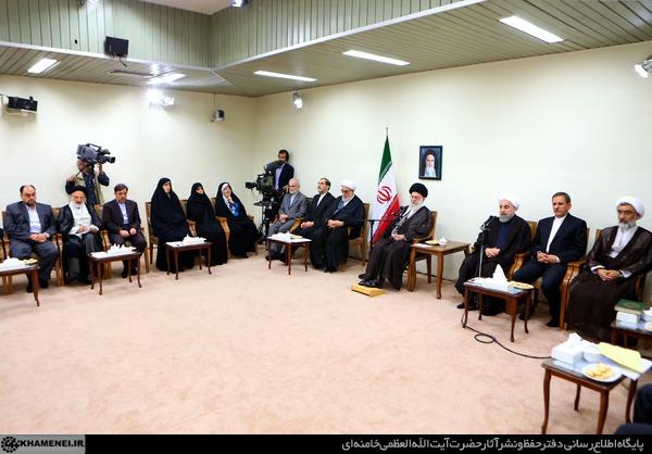 بیانات در دیدار رئیسجمهور و اعضاى هیأت دولت