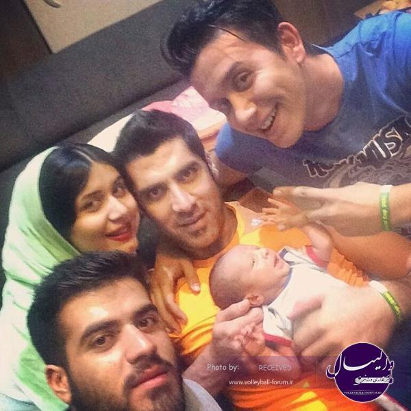 شهرام محمودی و فرزندش
