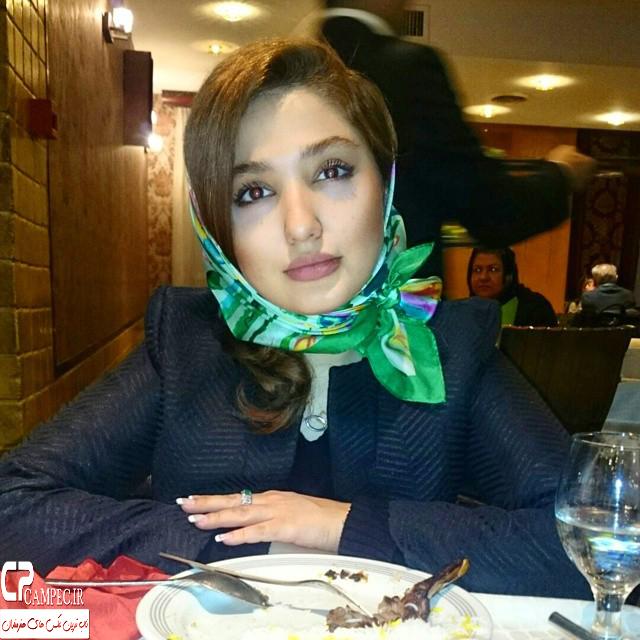 عکس های جذاب نازلی رجب پور در بهار 94