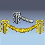 رلیف زنجیر ساخته شده با ارتکم