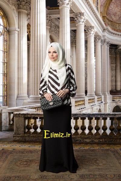 مدل حجاب زیبا مجلسی