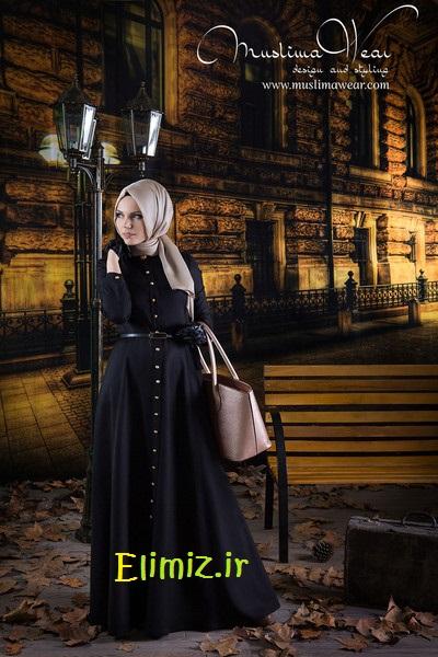 مدل زیبا اصیل حجاب