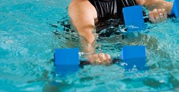 تمرینات هوازی در آب