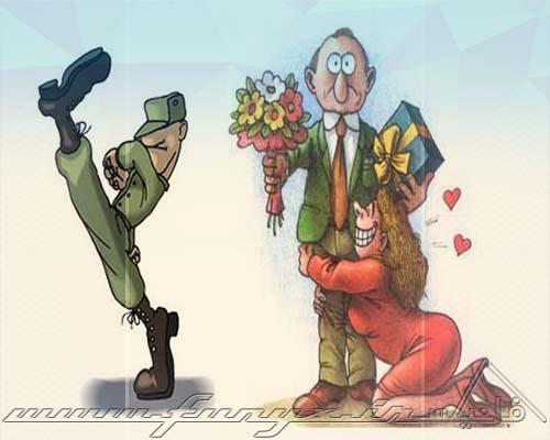 شباهت های ازدواج كردن با سربازی رفتن (طنز)