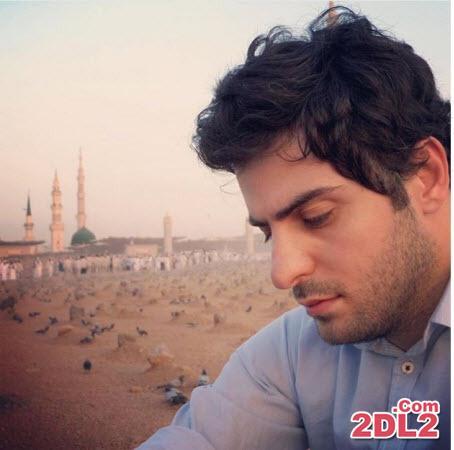 علی ضیا در قبرستان بقیع + عکس