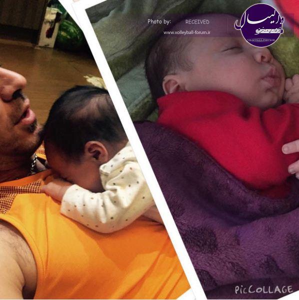 شهرام محمودی و پسرش