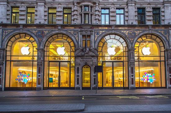 ساختمان اپل خیابان Regent در لندن