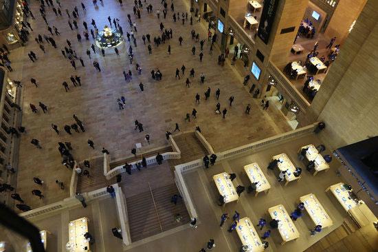 ساختمان اپل در ترمینال Grand Central نیویورک سیتی