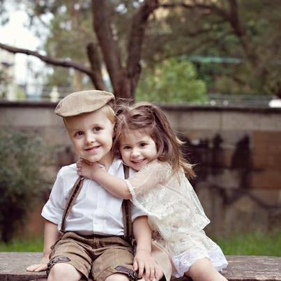 والپر های عاشقانه بچه های کوچولو
