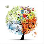 پاورپوینت آموزش چهار فصل به کودکان