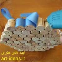 زیرقابلمه ایی چوبی 3