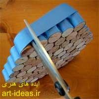 زیرقابلمه ایی چوبی 4