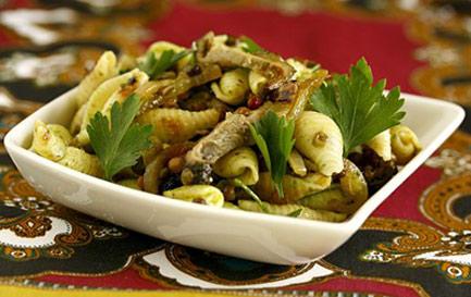 طرز تهیه سالاد ماکارونی آسیایی