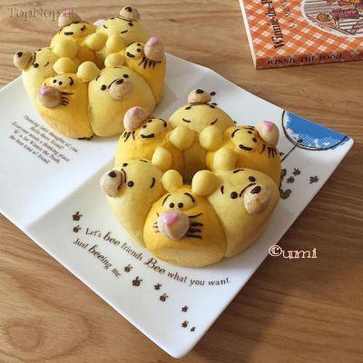 نان های سه بعدی دیدنی