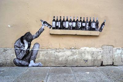 تصویرگری های خیابانی جالب از charles leval