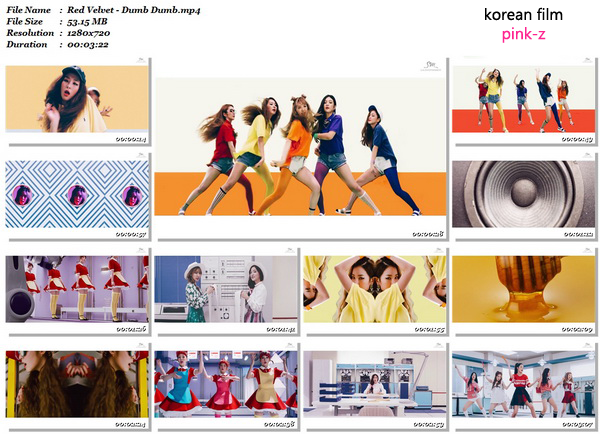 دانلود موزیک ویدئوی جدید گروه Red Velvet به نام Dumb Dumb