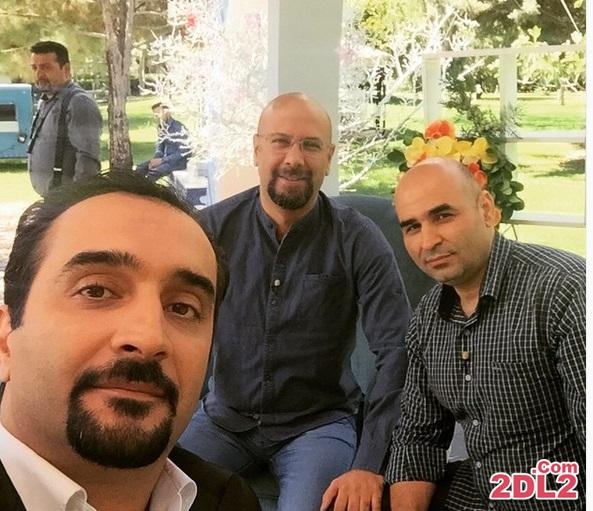 سلفی نیما کرمی با علی مشهدی و محمد بحرانی + عکس