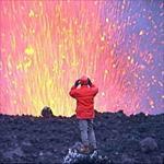 پروژه آتشفشان و بررسی انواع آن