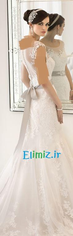 لباس عروس زیبا 94