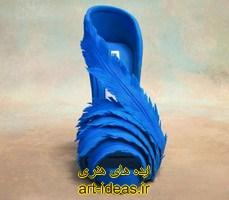 تزیین کفش زیبا