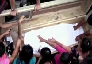 زنی که یک روز پس از دفن زنده شد