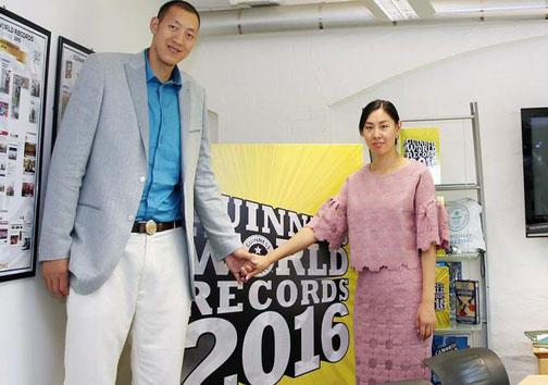 بلند قد ترین زوج دنیا