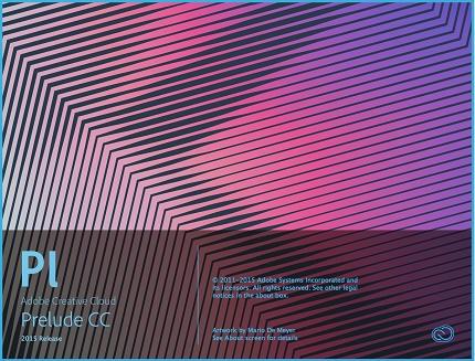 دانلود Adobe Prelude CC 2015 v4.0 MacOSX - نرم افزار مدیریت و سازماندهی فیلم برای مک