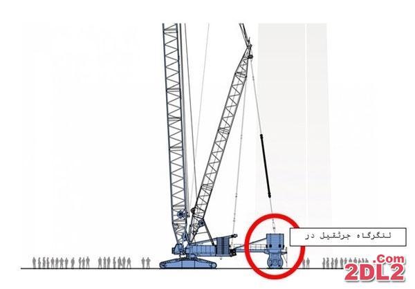 سقوط عمدی جرثقیل در مکه ی مکرمه + عکس و بررسی ها