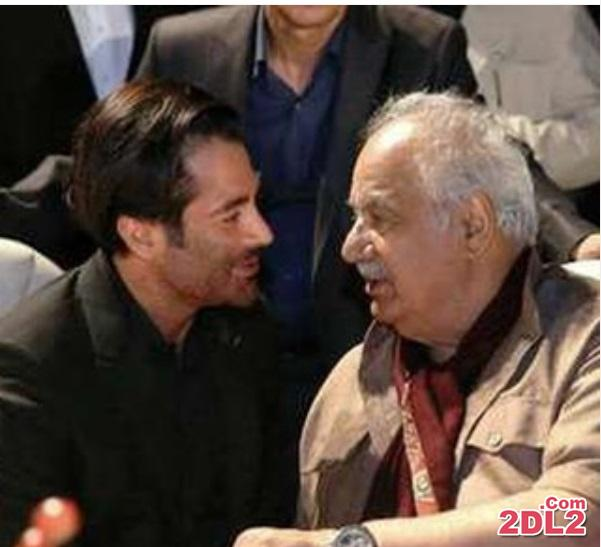 محمدرضا گلزار در کنار ناصر ملک مطیعی + عکس