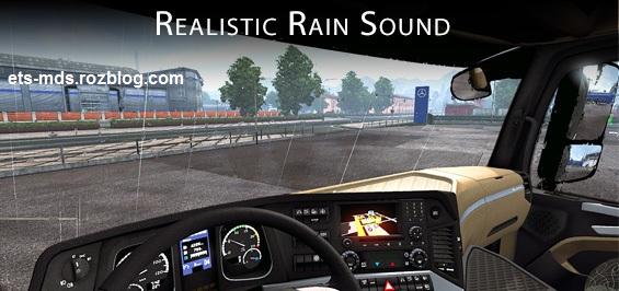 دانلود مد بهتر شدن صدای باران در بازی یورو تراک 2