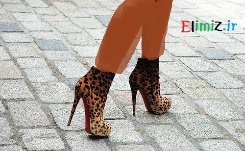مدل کفش دخترونه قابدار