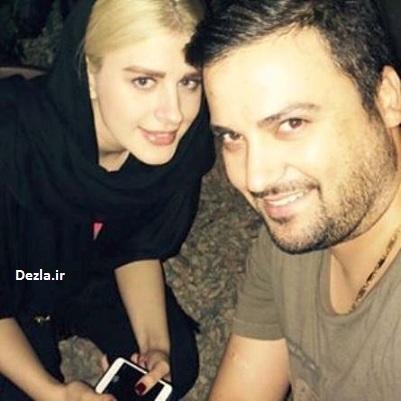 عکس سلفی مهدی سلوکی و همسرش