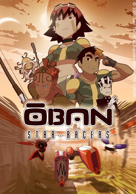 دانلود انیمه  Oban Star-Racers