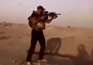 ابوعزرائیل خطاب به داعش : بخدا مانند آرد الکتان می کنم+فیلم