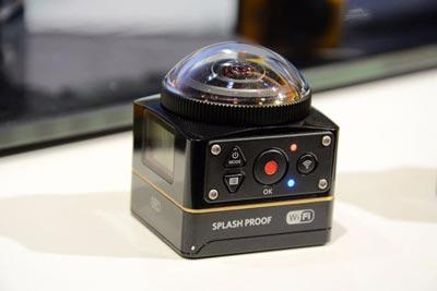دوربین اکشن PixPro SP360,دوربین SP360-4K کداک,ویژگیهای دوربین SP360-4K کداک